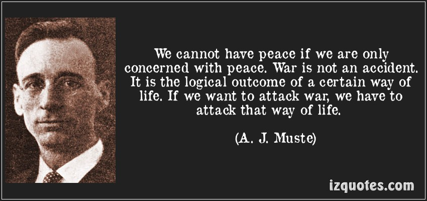 A. J. Muste's quote #1