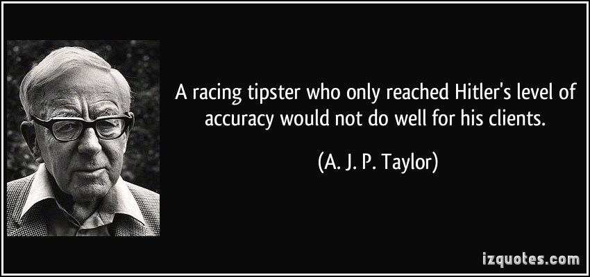 A. J. P. Taylor's quote #4