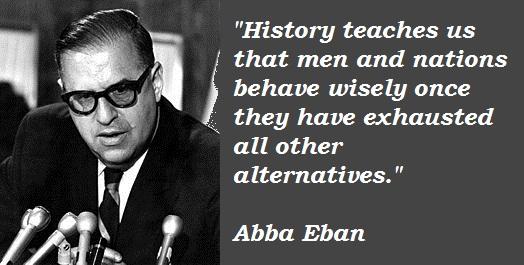 Abba Eban's quote #4