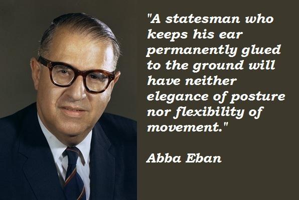 Abba Eban's quote #2