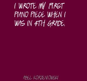 Abel Korzeniowski's quote #2