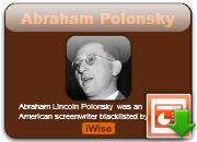 Abraham Polonsky's quote #7