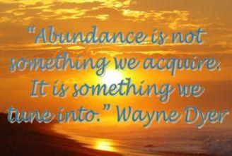 Abundance quote #1