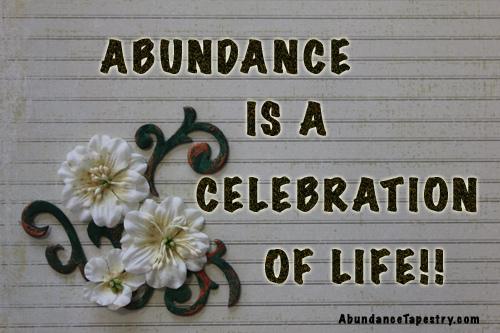 Abundance quote #3