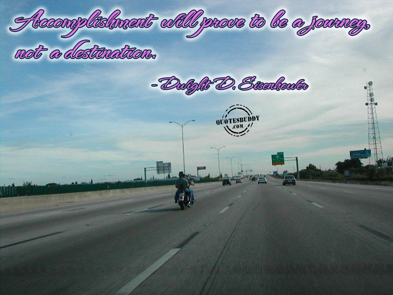 Accomplishment quote #1