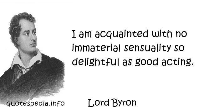 Acquainted quote #1