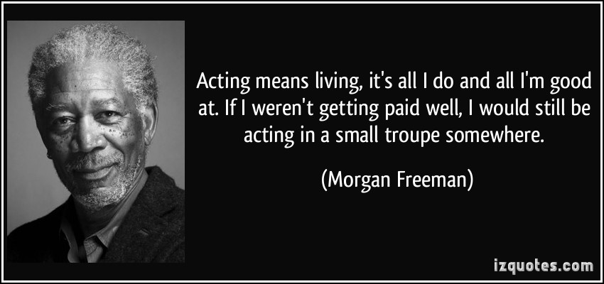 Acting quote #1