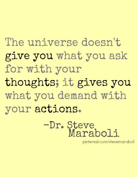 Actions Speak quote #2