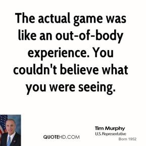 Actual Experience quote #1