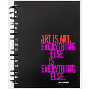 Ad Reinhardt's quote #3