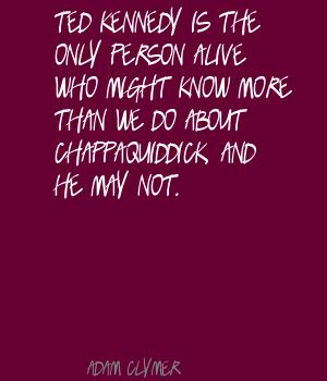Adam Clymer's quote