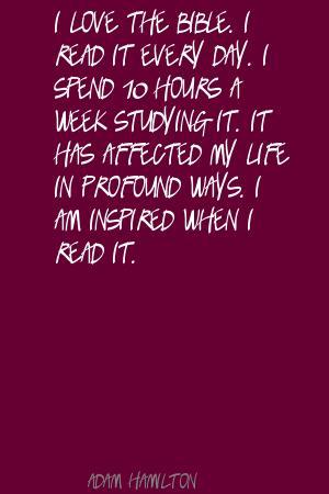 Adam Hamilton's quote #6