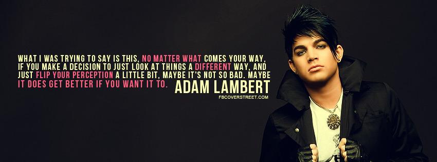 Adam Lambert's quote #5
