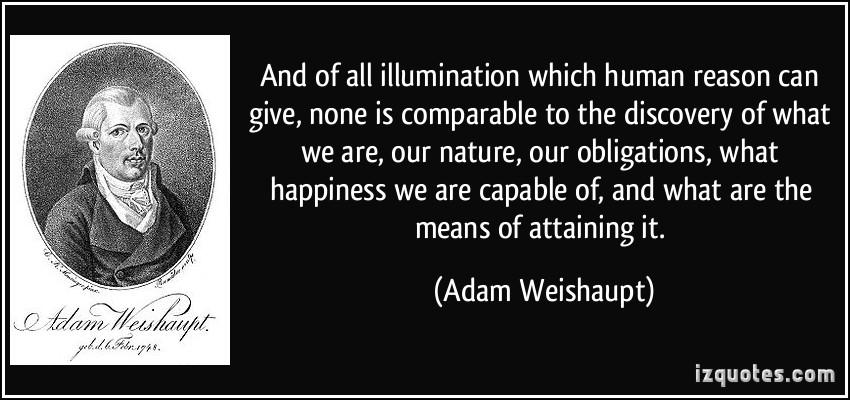 Adam Weishaupt's quote #1