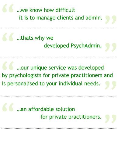 Administrative quote #2
