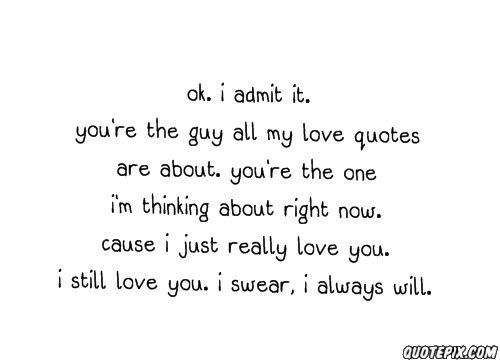 Admit quote #6