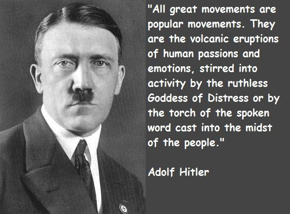 Adolf Hitler's quote #3