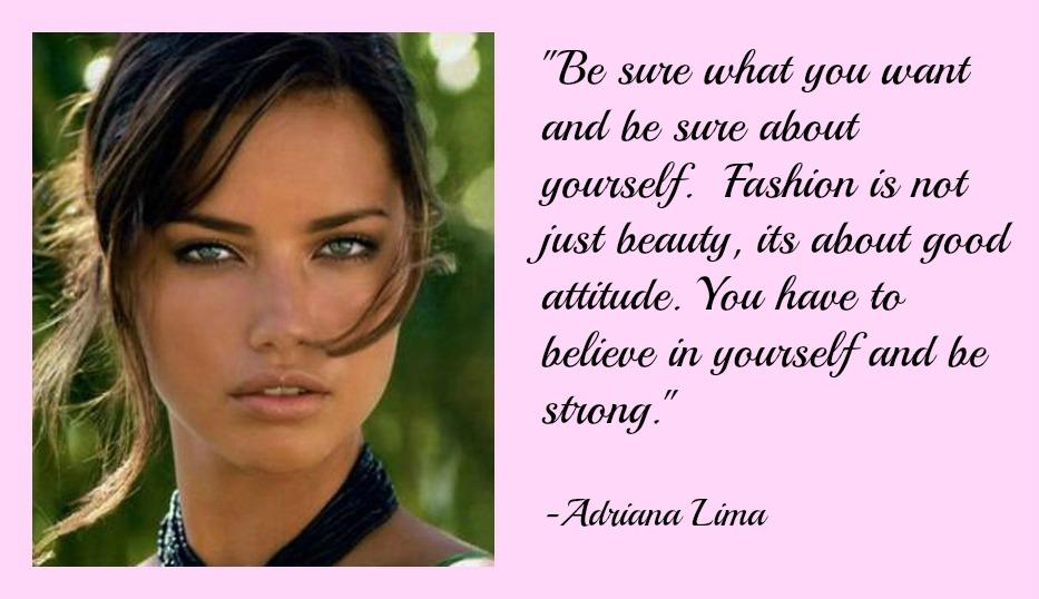 Adriana Lima's quote #6