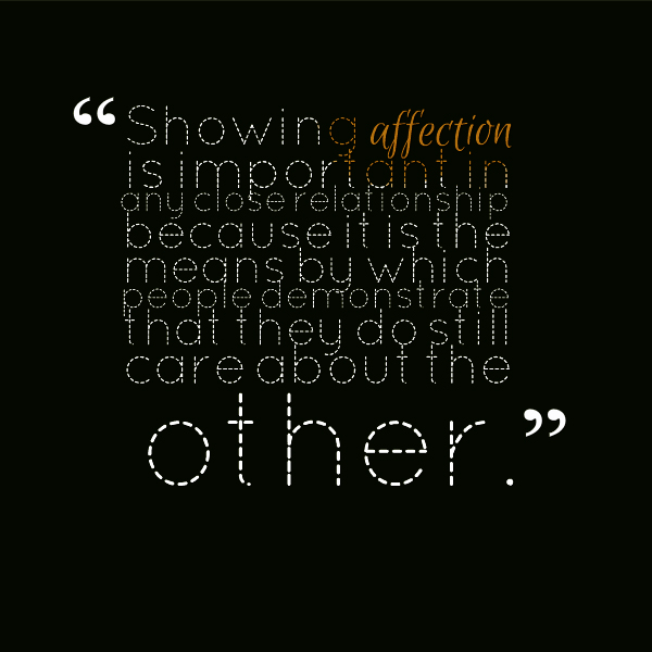 Affection quote #4