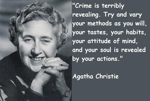 Agatha Christie's quote #5