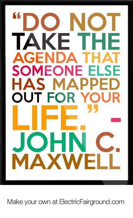Agenda quote #5