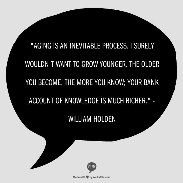 Aging quote #3