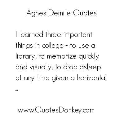 Agnes de Mille's quote #2
