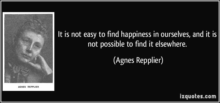 Agnes Repplier's quote #2