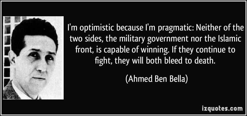 Ahmed Ben Bella's quote #1