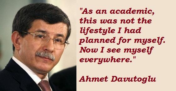Ahmet Davutoglu's quote #5