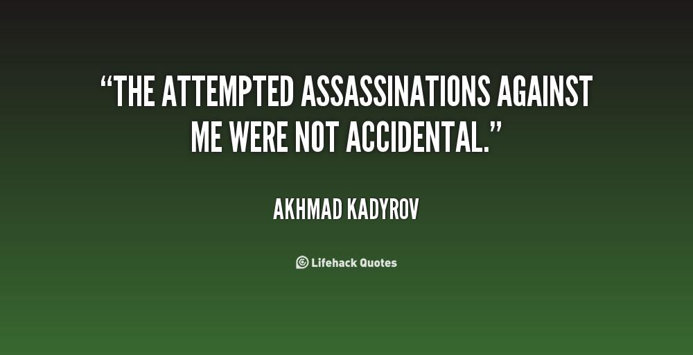 Akhmad Kadyrov's quote #2