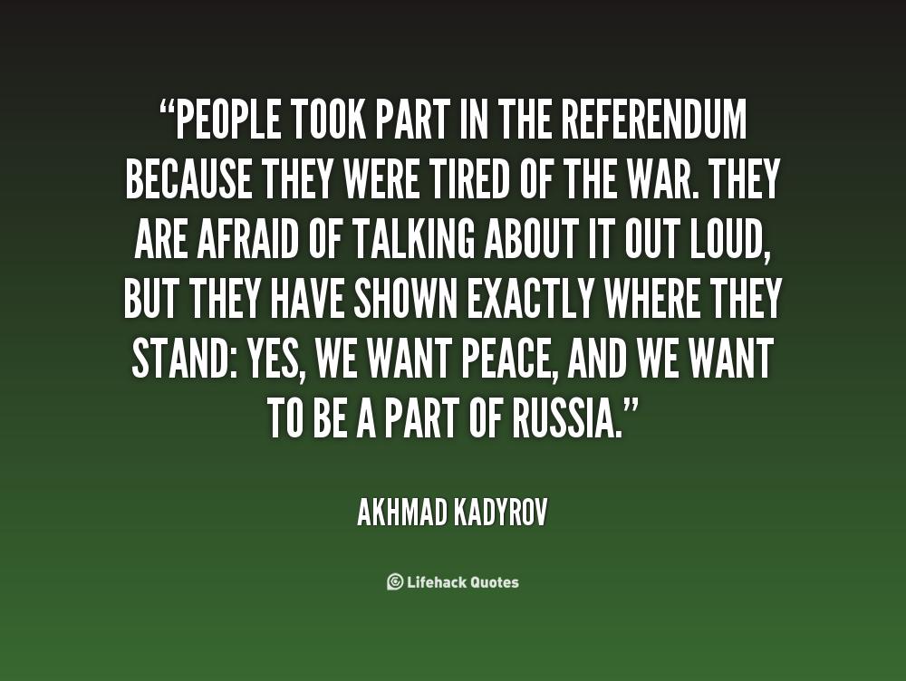 Akhmad Kadyrov's quote #4