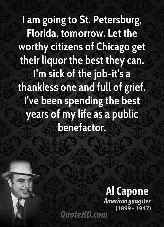 Al Capone quote #1