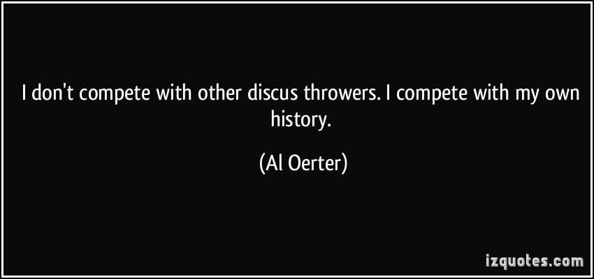 Al Oerter's quote