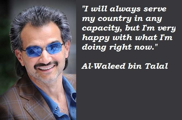 Al-Waleed bin Talal's quote #7