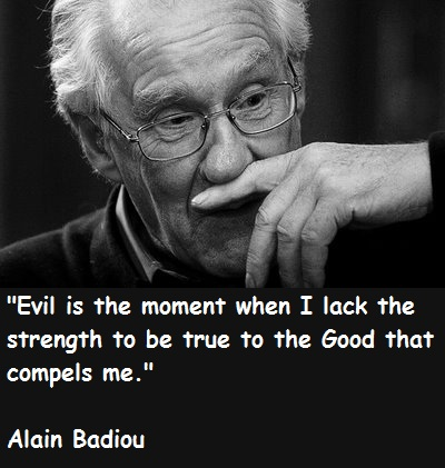 Alain Badiou's quote #1