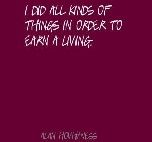 Alan Hovhaness's quote #2