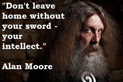 Alan Moore's quote #8