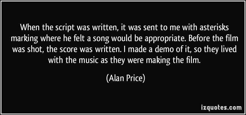 Alan Price's quote #2