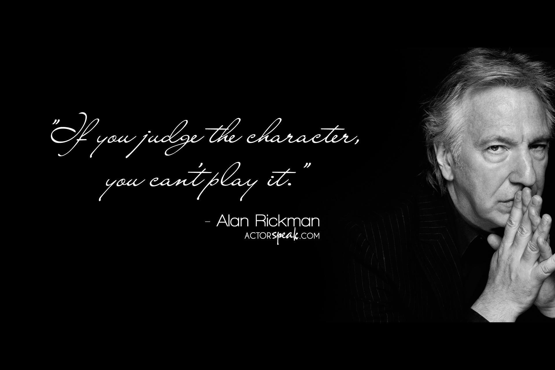 Alan Rickman's quote #1