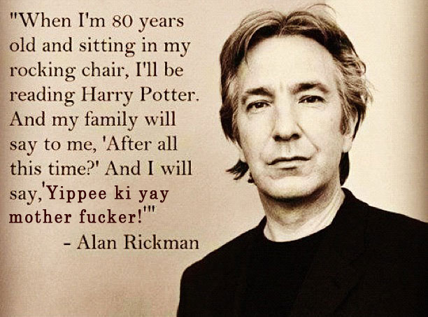 Alan Rickman's quote #2