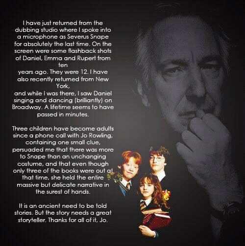 Alan Rickman's quote #3