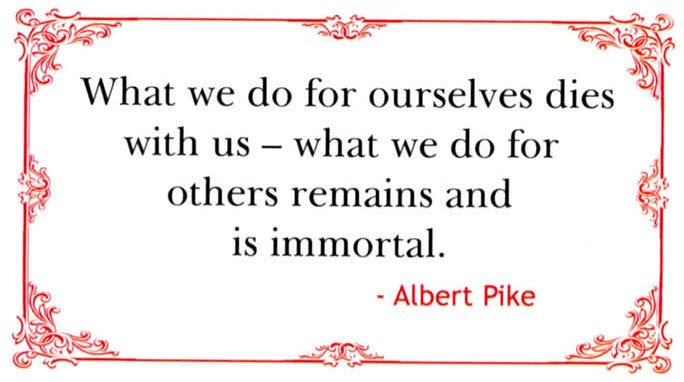 Albert Pike's quote #4