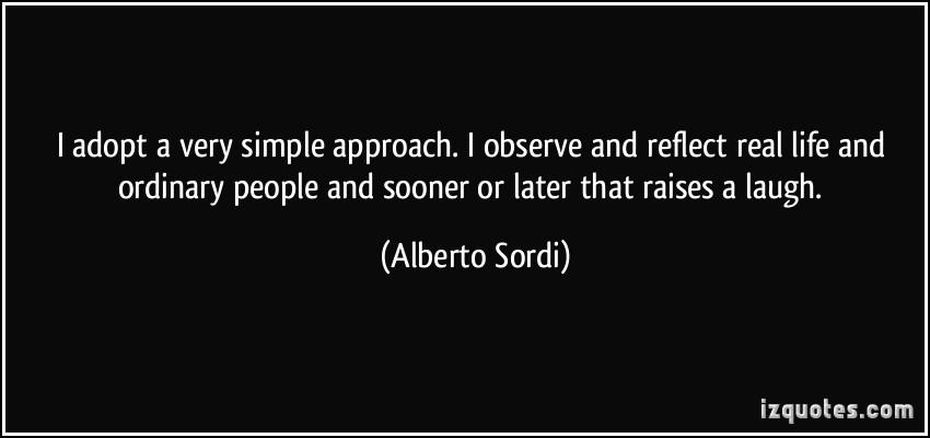 Alberto Sordi's quote #1