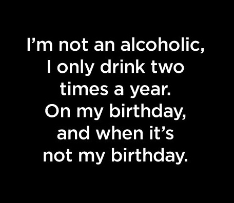 Alcoholic quote #1