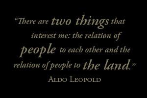 Aldo Leopold's quote #7