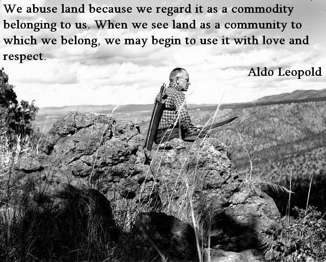 Aldo Leopold's quote #5