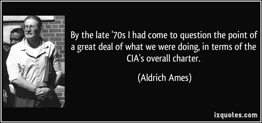 Aldrich Ames's quote #3