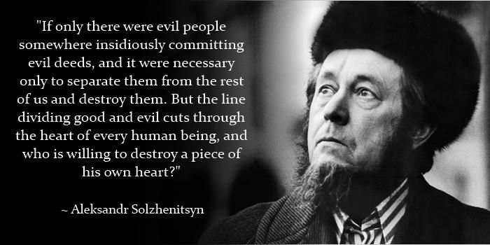Aleksandr Solzhenitsyn's quote #1