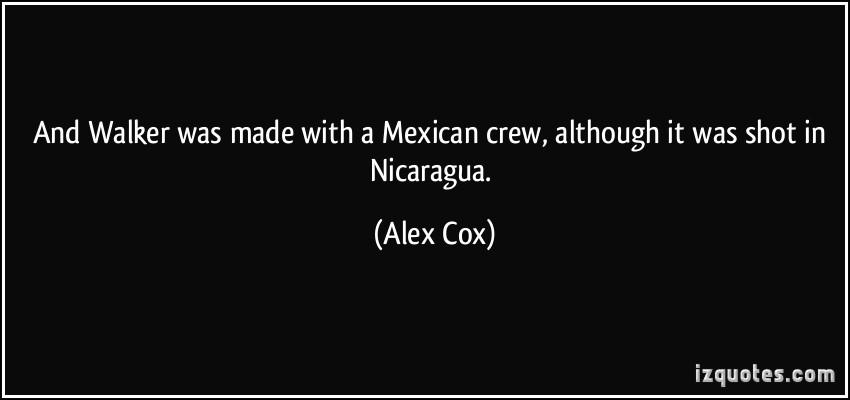 Alex Cox's quote #6